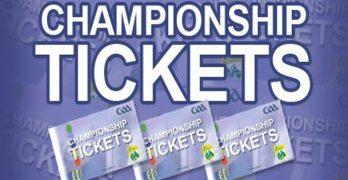 Ticket information All Ireland Quarter Final 30th July