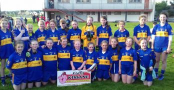 Under 12 Girls Blue team North Kerry Div 1 champions !