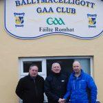 Ballymac GAA Club Notes Sunday 17/12/2017
