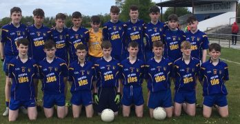 U16 team who played Castleisland District A game earlier today