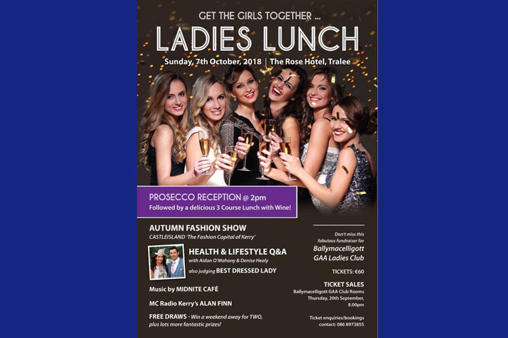 Ladies Lunch 2018 Ballymac GAA