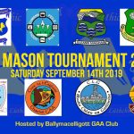 eric mason tournament ballymacelligott gaa 2019