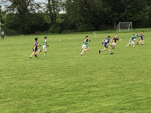 Action from The Gavin White & Adrian Spillane Group in the  U11 Go Games 10th June 2021
